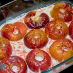 рецепт печеные яблоки