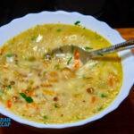 суп из белых грибов на обед